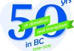 BC transplant 50 years anniversary