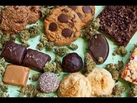 Various marijuana edibles.