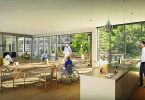 The dementia village is a Dutch model for seniors care.