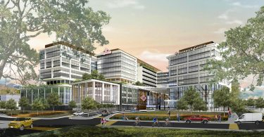 A rendering of the new St. Paul's Hospital.