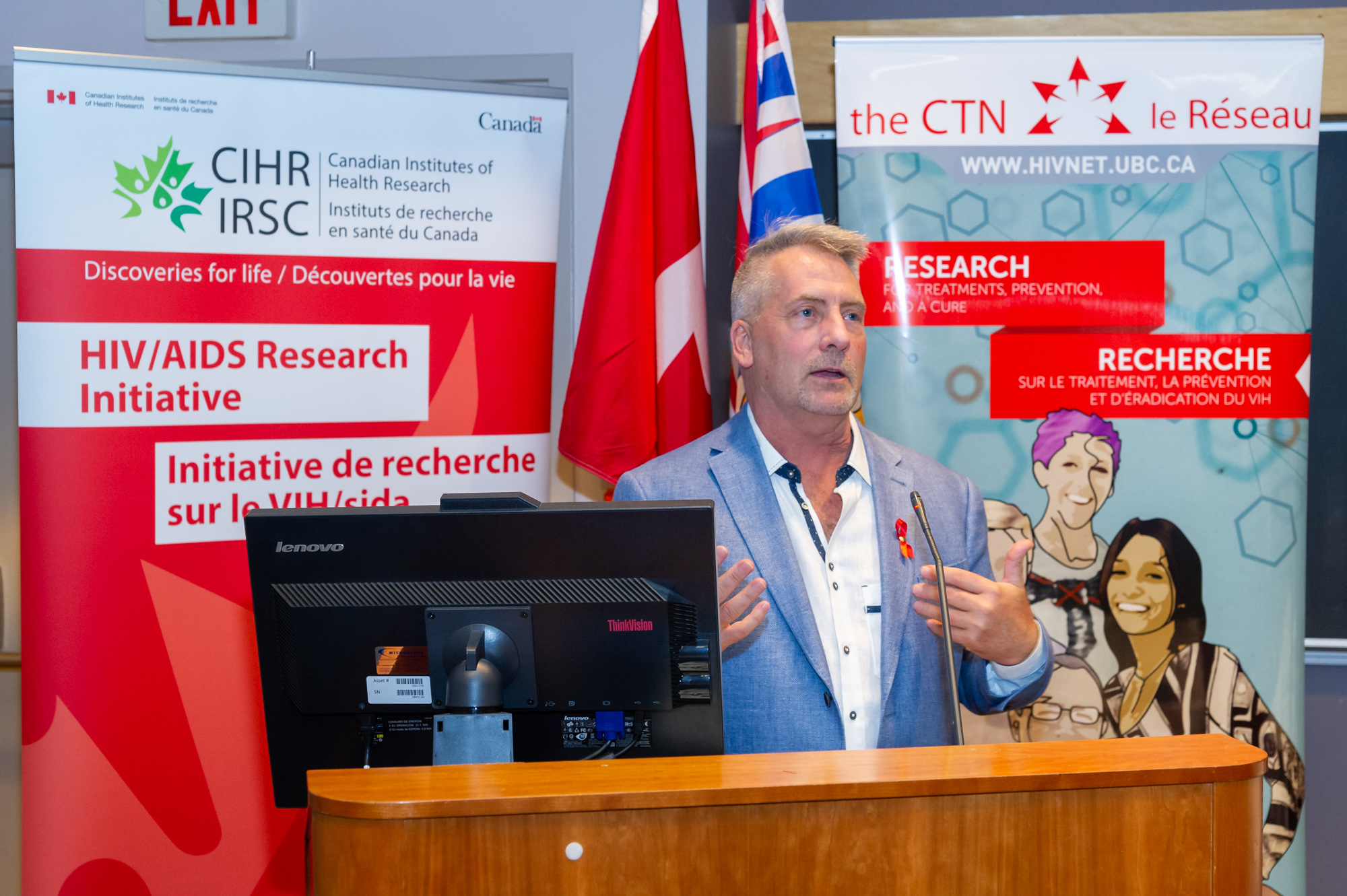 Darren Lausher CAC Member speaks at the announcement