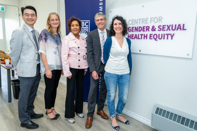 Providence, UBC, Atira, Hedy Fry attend funding announcement for Centre for Gender and Sexual Health Equity project around gender-based violence