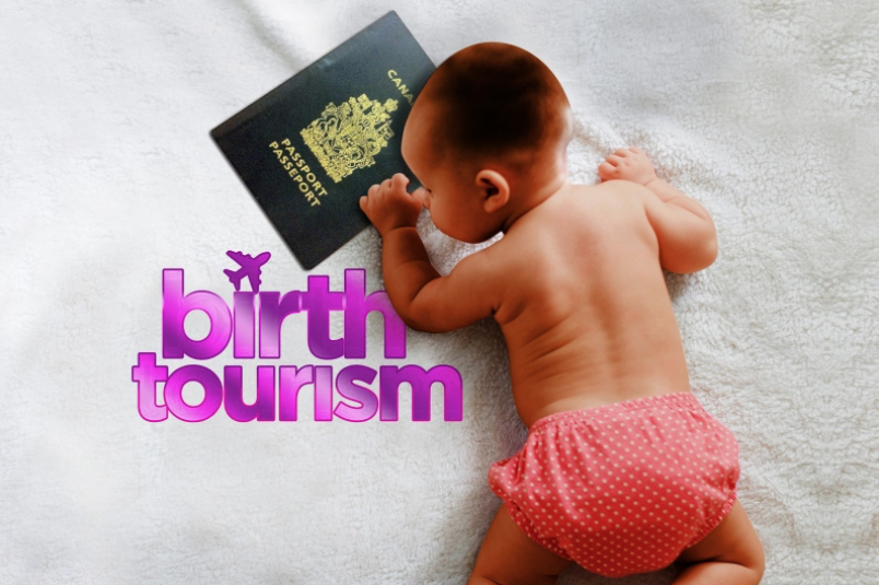 Diplomatic row with China not impacting birth tourism. (Photo courtesy of Graeme Wood / Glacier Media / Tricity News )