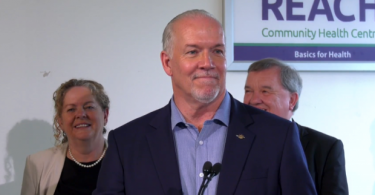 B.C. Premier John Horgan speaks at a news conference in Vancouver on Wednesday, July 17, 2019. (Photo Credit: CTV News Vancouver)
