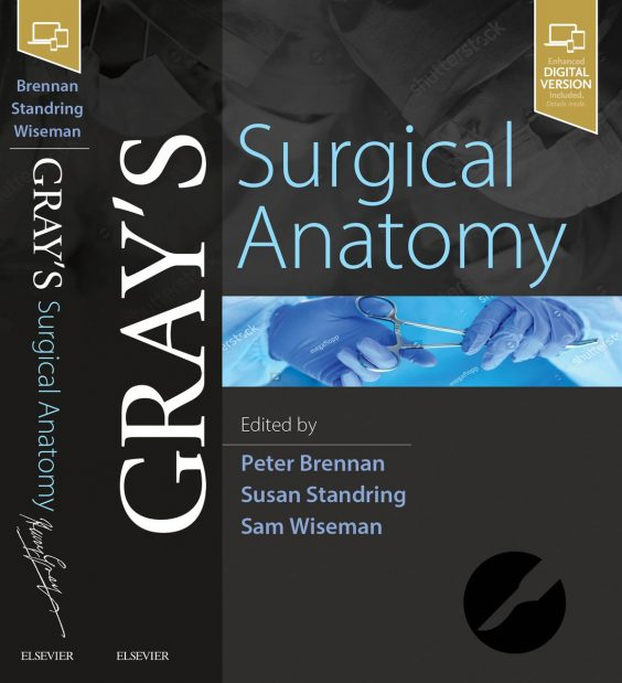 Cover shot of new Gray's Surgical Anatomy reference book.