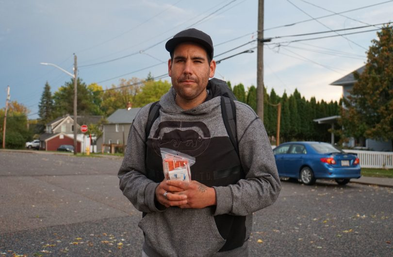 Dr. Keith Ahamad, an addictions specialist in Vancouver, said lack of stable housing, such as in the city's Downtown Eastside, can exacerbate meth use. (Photo courtesy of Ben Nelms/ CBC News.)