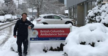 BC paramedics to be studied for COVID risks, infection