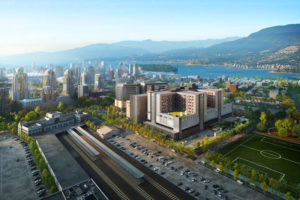 A design-build team of HDR, PCL Construction, and Stantec will work to create the new St. Paul's Hospital Project in Vancouver, B.C. (Photo credit: Construction Canada)