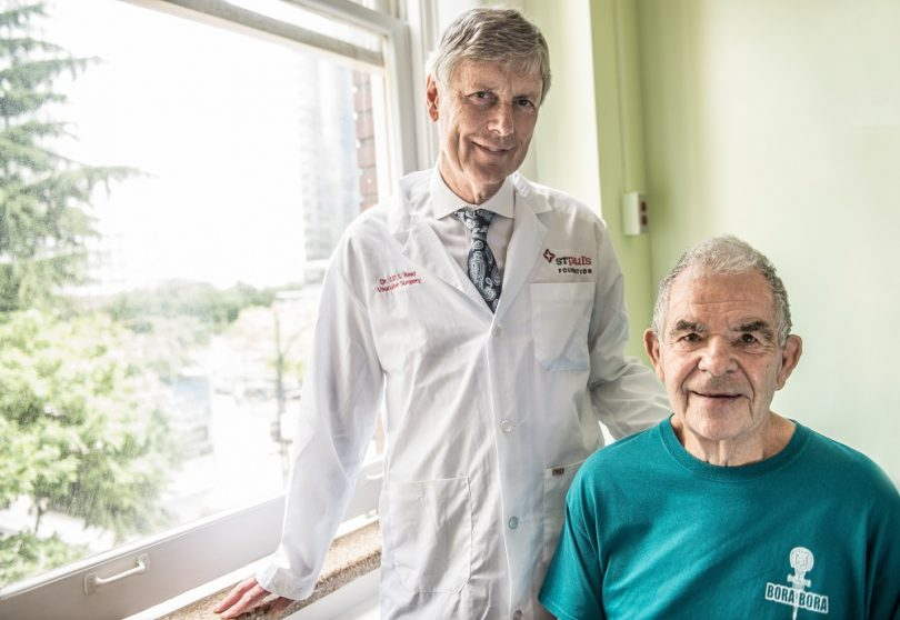 Shows how doctors are raising money for new St. Paul's Hospital