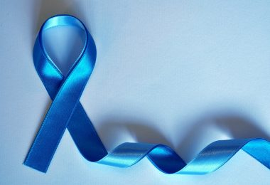 blue ribbon symbolizes prostate cancer awareness