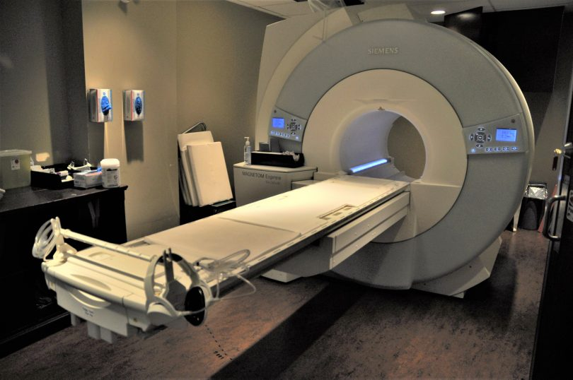 illustrates MRI in a new clinic on Granville St. staffed by St. Paul's people