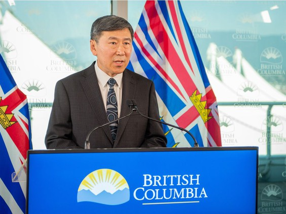 Former Vancouver police chief Jim Chu has been named BCEHS chair (B.C. Emergency Health Services). (Photo credit: Vancouver Sun)