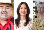 Chief Joe Alphonse, Vancouver Chinatown Foundation cofounder and chair Carol A. Lee, and B.C. provincial health officer Dr. Bonnie Henry are among the 16 appointees to the Order of British Columbia in 2021. (Photo credit: The Georgia Straight)